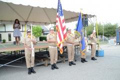 Color Guard + National Athem