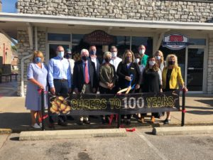 Batesville Area Chamber – Celebrating 100 Years ribbon cutting photo