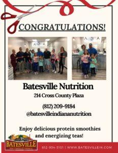 Batesville Nutrition ribbon cutting photo