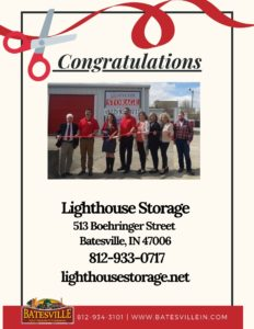 Lighthouse Storage ribbon cutting photo