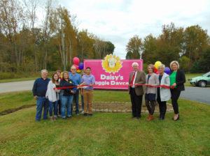 Daisy's Doggie Daycare ribbon cutting photo