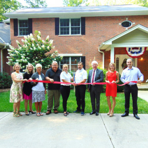 Hickory Road Inn ribbon cutting photo