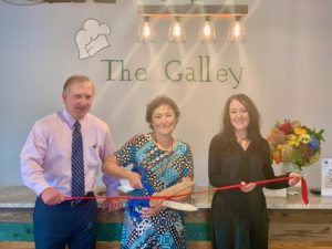 The Galley ribbon cutting photo