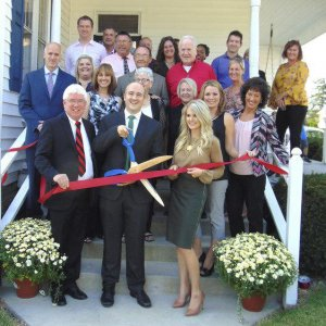 Lohmiller Real Estate ribbon cutting photo