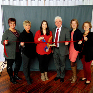 Marsha Combs Photography ribbon cutting photo