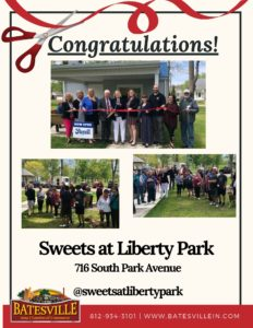 Sweets at Liberty Park ribbon cutting photo
