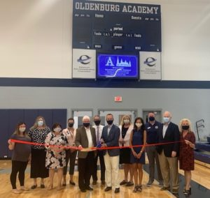 Oldenburg Academy Hillenbrand Family Feldhaus ribbon cutting photo