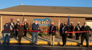 The Hall – Home of the Knights of Columbus ribbon cutting photo