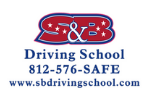 S&B Driving School logo