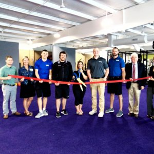 Anytime Fitness ribbon cutting photo