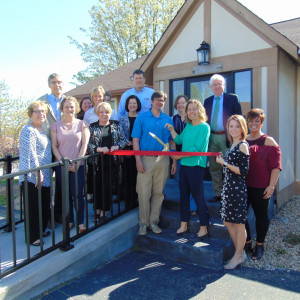 Carpenter Family Care ribbon cutting photo