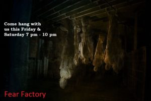 All events for Fear Factory – Batesville Area Chamber of Commerce