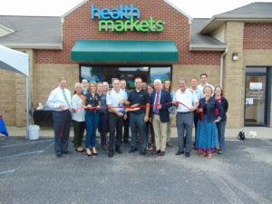 Health Markets Insurance Agency ribbon cutting photo