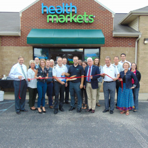 Health Markets Insurance Agency ribbon cutting photo