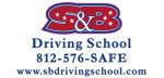 S&B Driving School logo
