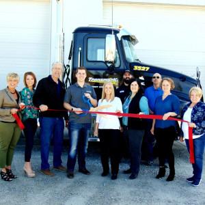 Transmark Logistics LLC ribbon cutting photo