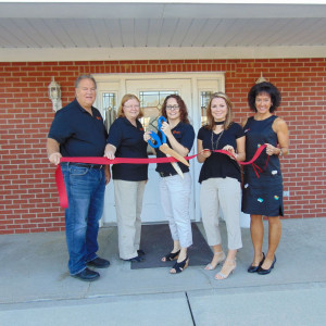 Voldico Insurance, Tekulve-Vankirk Agency ribbon cutting photo
